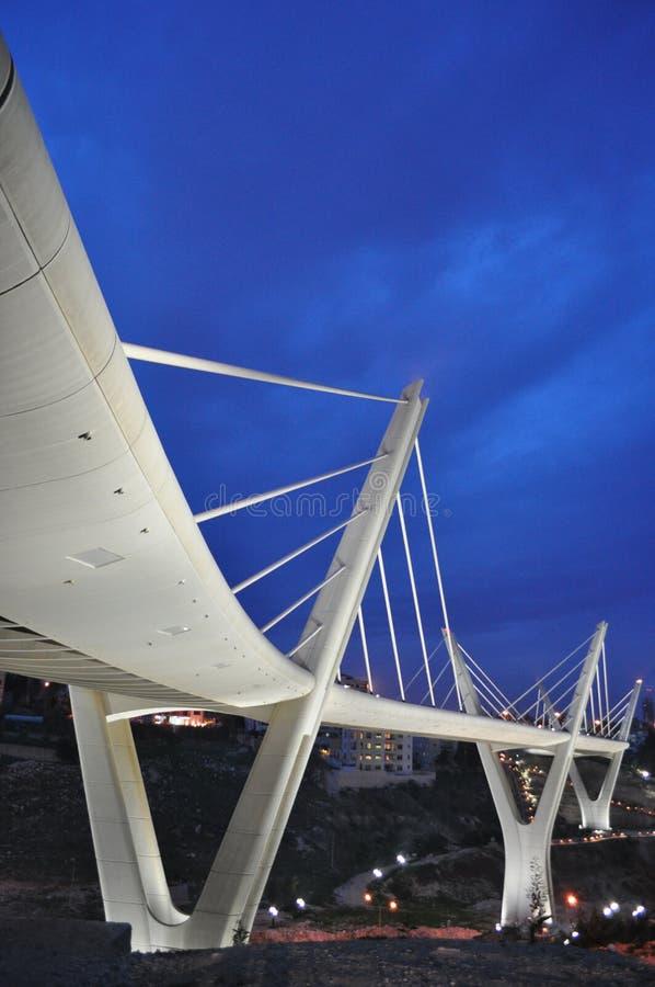 Download Suspended Bridge stock image. Image of energy, jordan - 18913877
