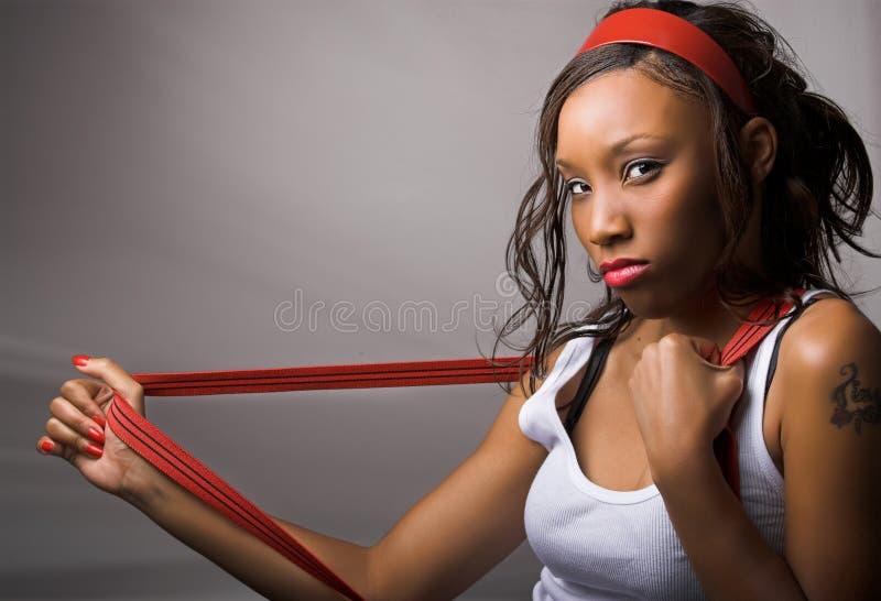 suspenders γυναίκα στοκ φωτογραφίες με δικαίωμα ελεύθερης χρήσης
