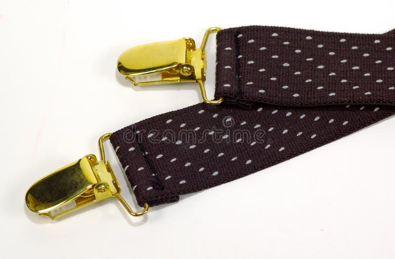 Suspenders Arkivbild