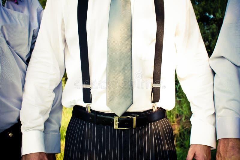 Suspenders royalty free stock image