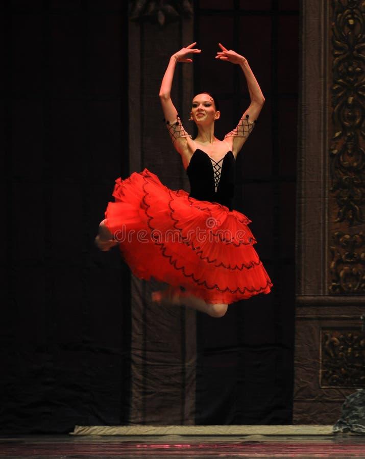 Suspendido na dança feericamente dos ar-doces - a quebra-nozes do bailado fotos de stock