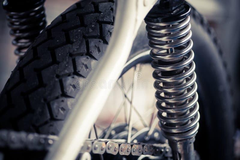 Suspensão da motocicleta fotos de stock royalty free