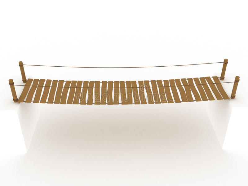 "Suspension Bridge â""–1 vector illustration"