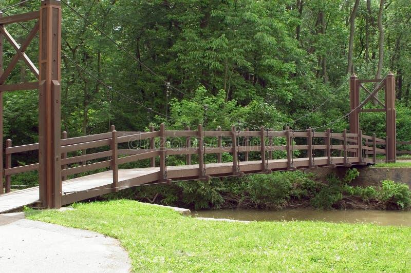 Download Suspension Bridge stock photo. Image of river, leaves, water - 3762