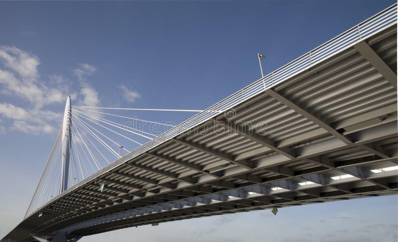 Suspension bridge 10 royalty free stock image