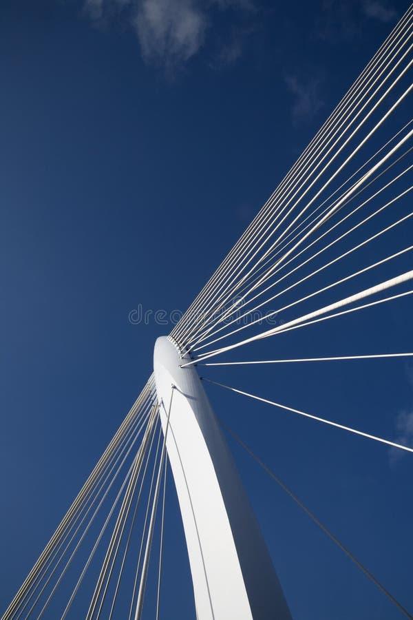 Suspension bridge 11 royalty free stock photography
