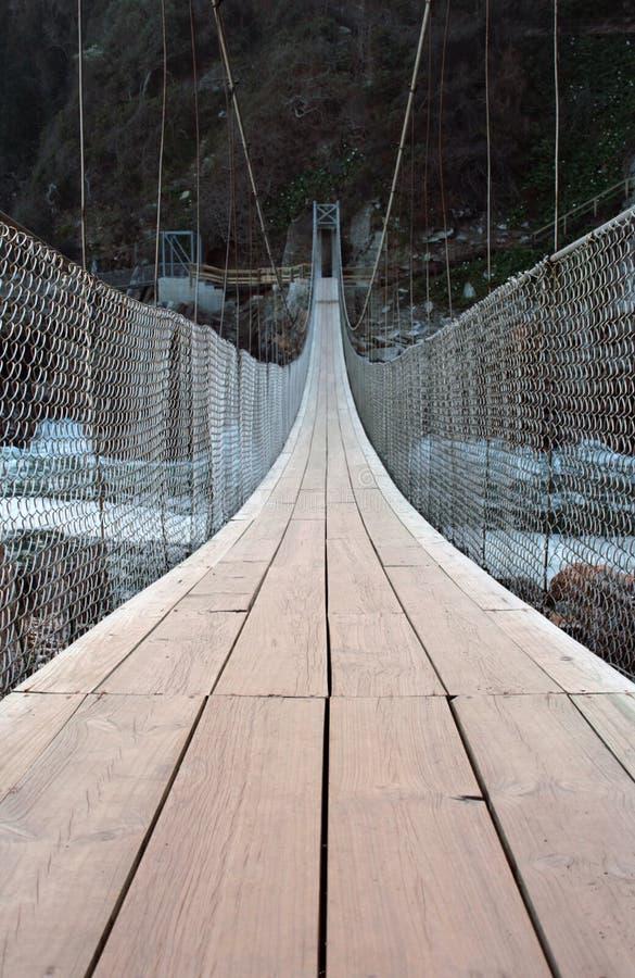Suspension bridge stock photos