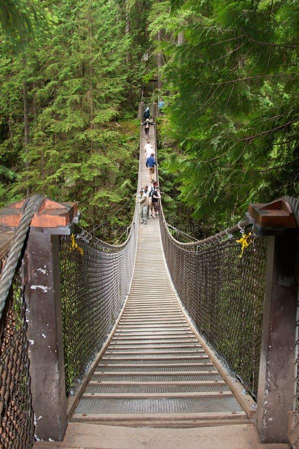 Suspension Bridge stock image
