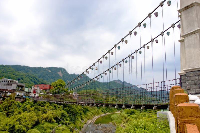 A Suspension Bridge Royalty Free Stock Photos