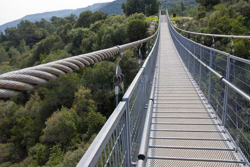 Download Suspension Bridge stock photo. Image of forest, wobble - 23776418