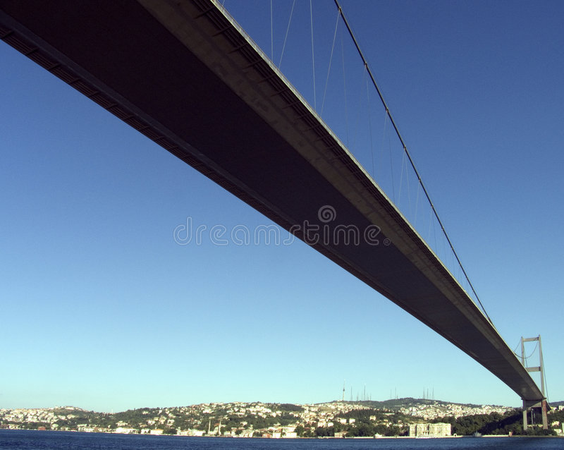 Suspension bridge 4 royalty free stock images