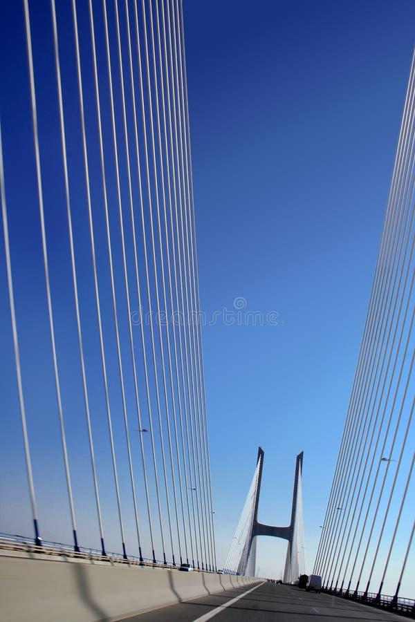 Free Suspension Bridge With Shrouds Stock Photos - 5851433