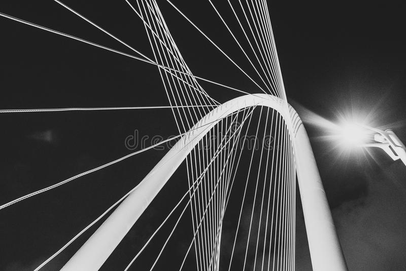 Suspension Cable In Black And White Free Public Domain Cc0 Image