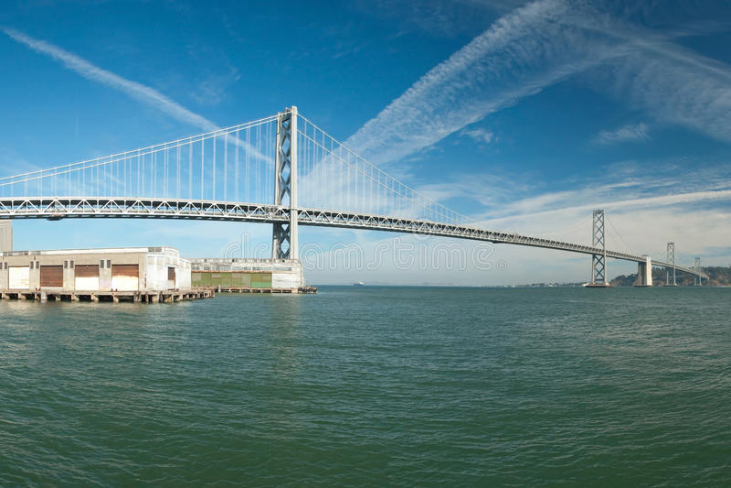 Download Suspension Oakland Bay Bridge In San Francisco Stock Image - Image: 22553009