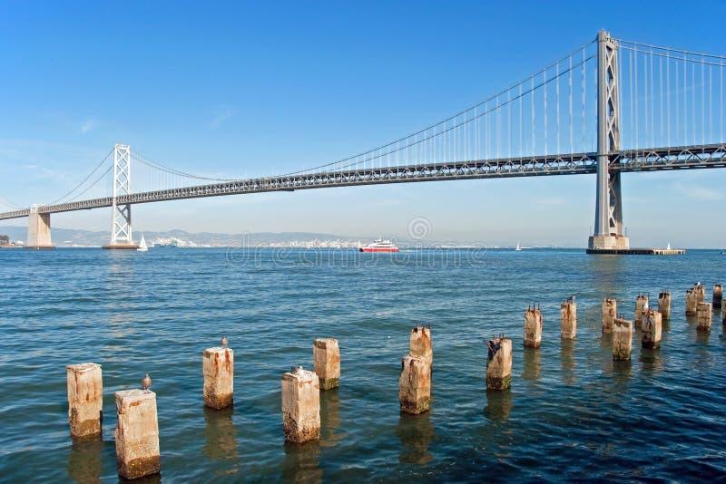 Download Suspension Oakland Bay Bridge In San Francisco Royalty Free Stock Images - Image: 22614569