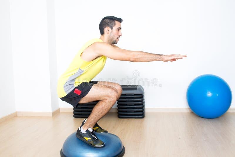 Suspension training stock image