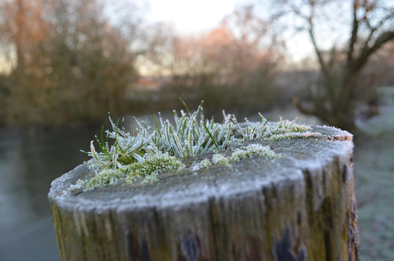 The Sussex countryside in Winter. stock photos