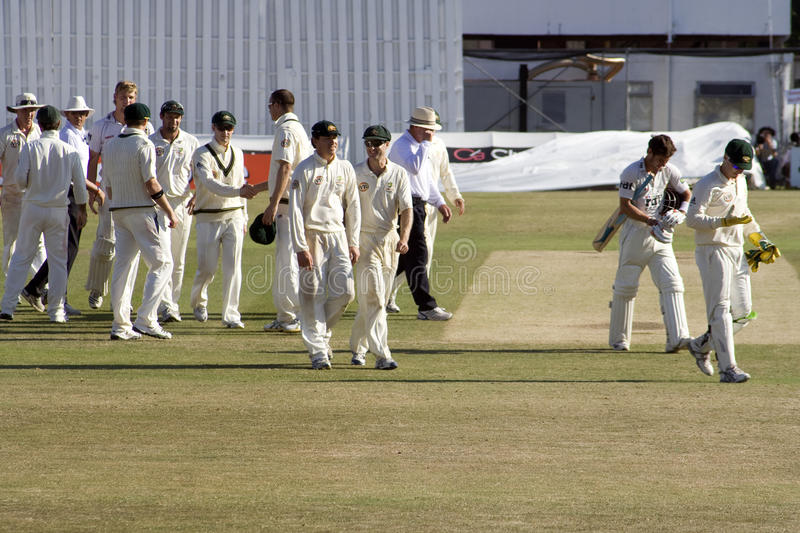 Sussex County Cricket Club Draw With Australia Editorial Stock Photo