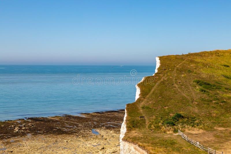 Sussex kust- landskap arkivbild