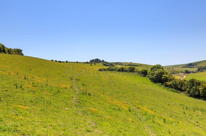 Sussex-Landschaft stockbild