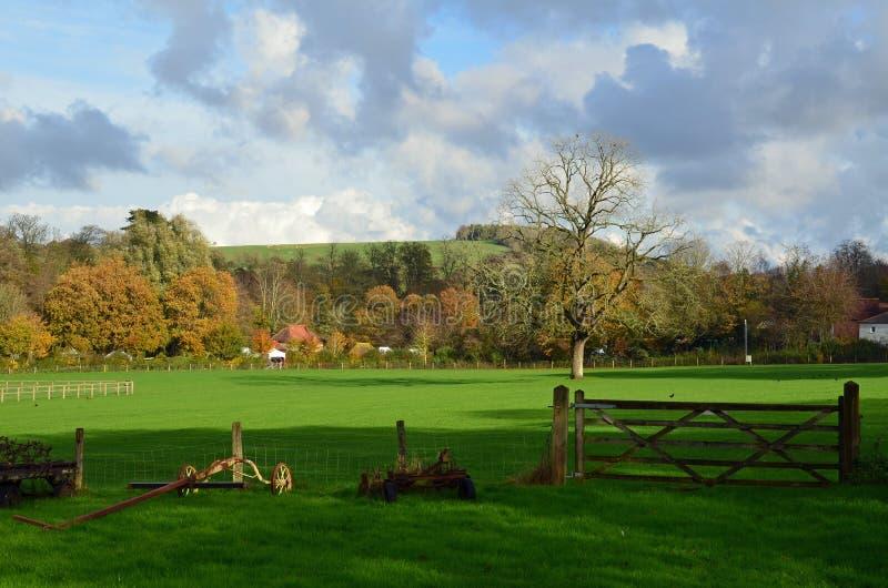 Sussex-Landschaft des Weald lizenzfreie stockfotografie
