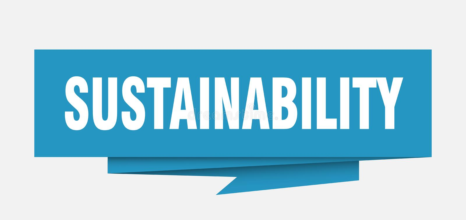 sustainability illustrazione di stock