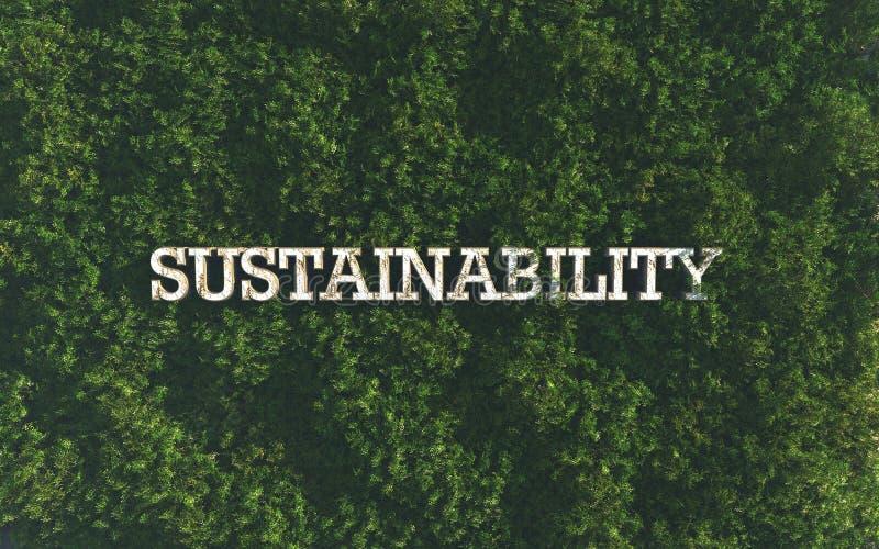 sustainability stock de ilustración