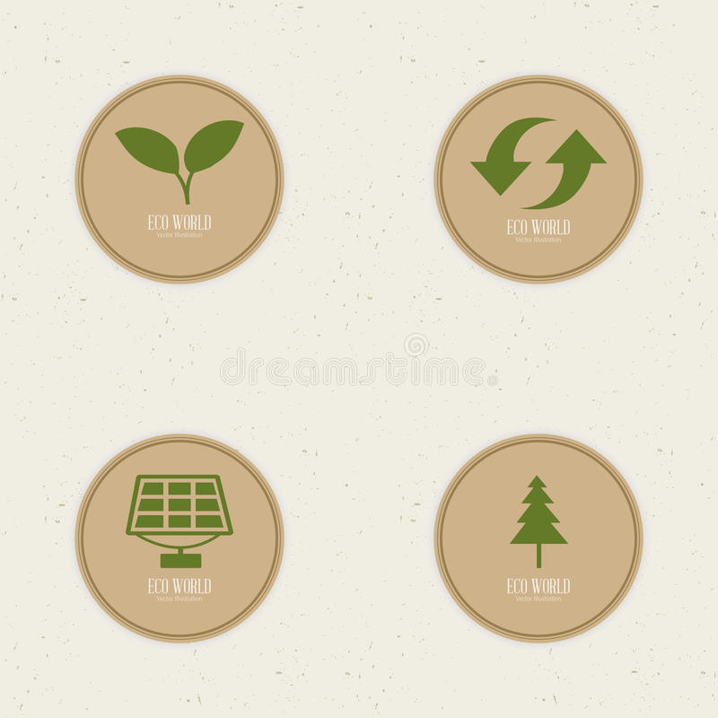 sustainability illustrazione vettoriale