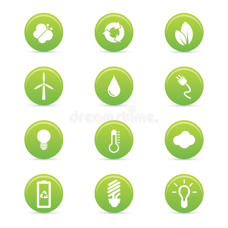 Download Sustainability icons stock vector. Image of sustainable - 35600453