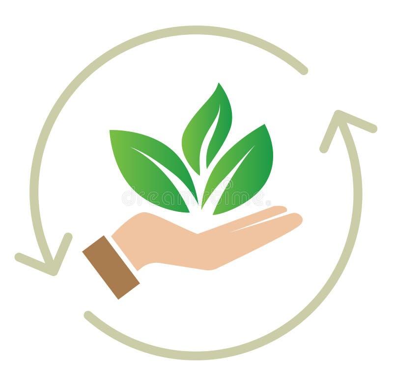 Free Sustainability - Plant Icon Royalty Free Stock Photography - 164363757