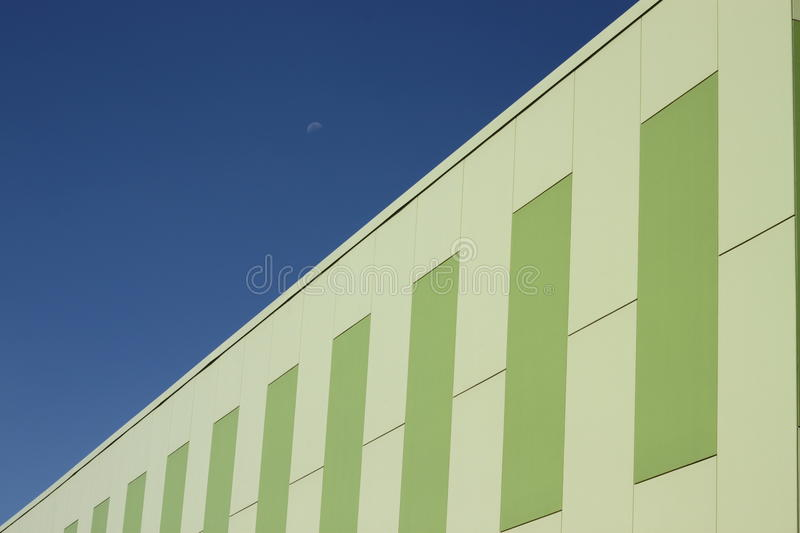 Sustainable Building Green stock image