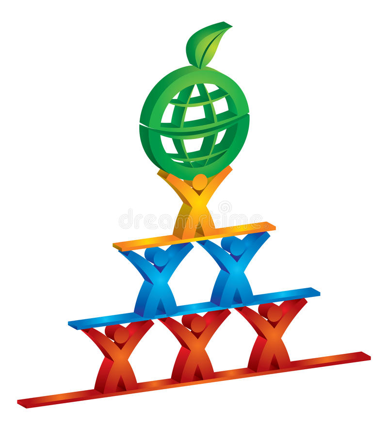 Sustainable development stock illustration