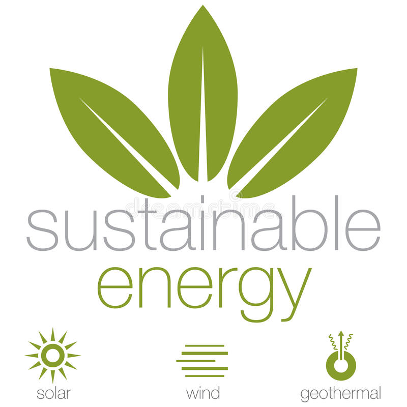 Download Sustainable Energy stock vector. Image of clipart, renewable - 31963573