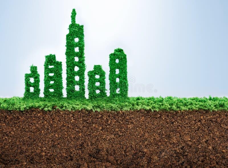 Sustainable urban development royalty free stock image