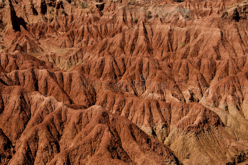 Susza piaska czerwonego pomarańczowego kamienia rockowa formacja wewnątrz obraz stock