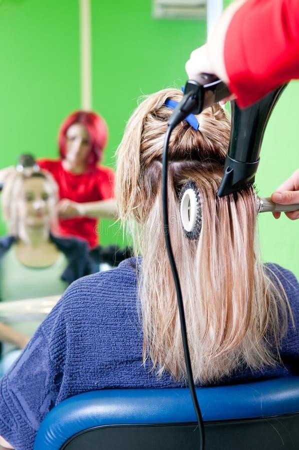 suszarniczy włosy obraz stock