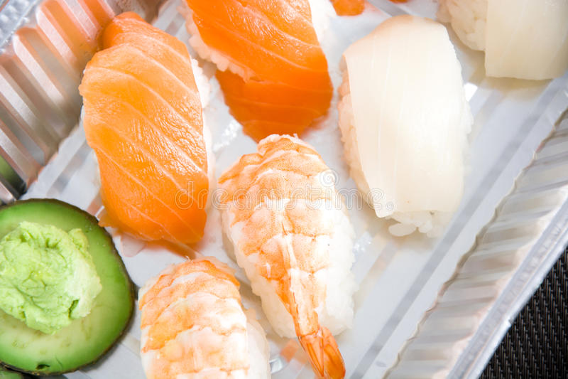 Suszi i wasabi obrazy royalty free