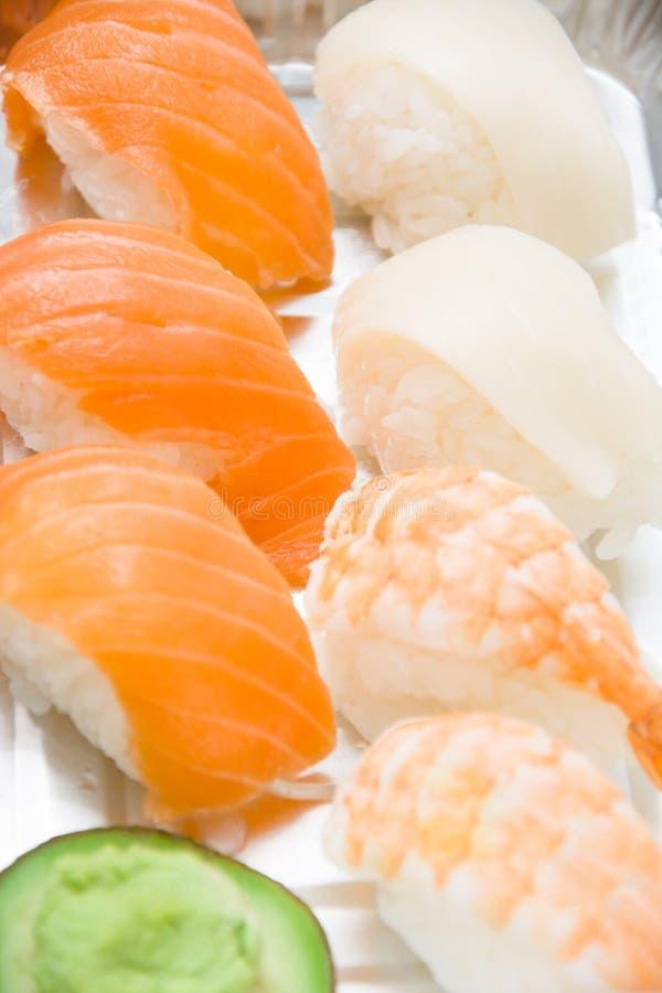 Suszi i wasabi zdjęcie stock