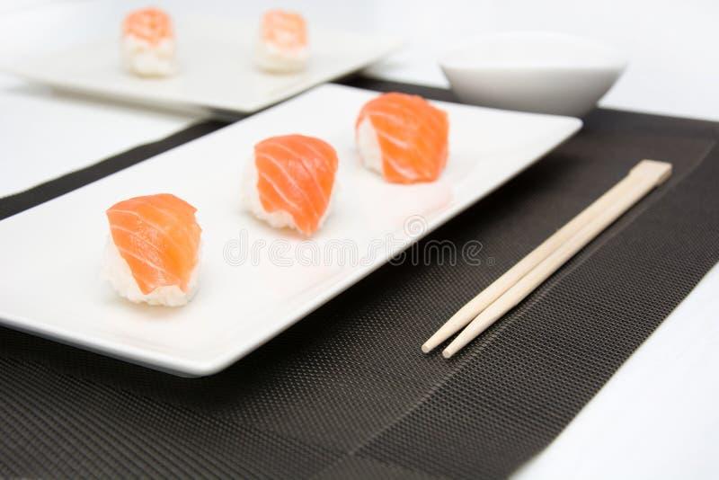 Suszi i wasabi zdjęcia stock