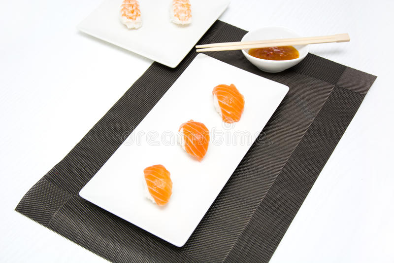 Suszi i wasabi zdjęcie royalty free