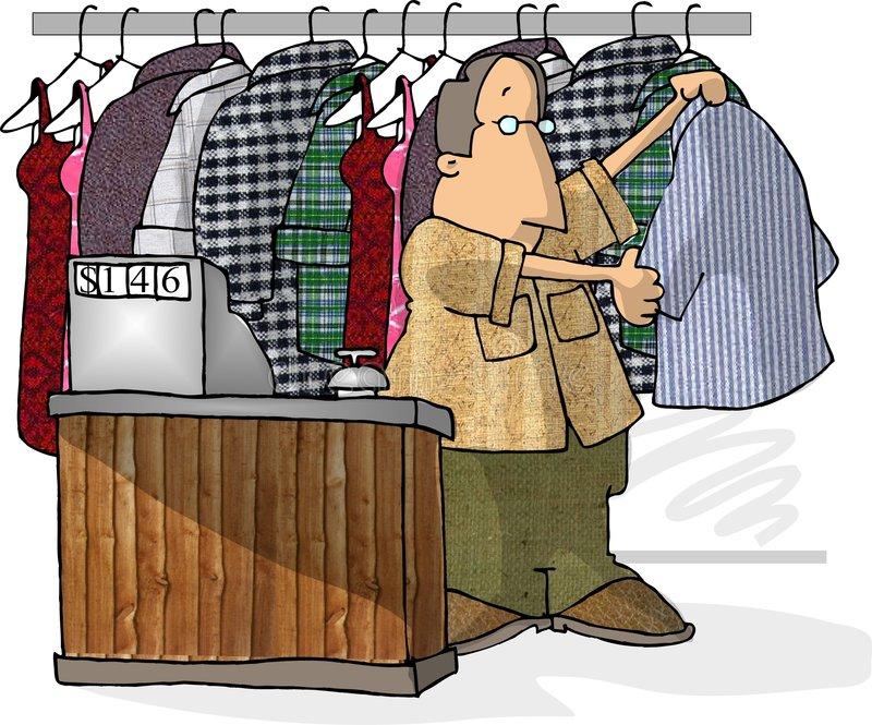 suszone do pralni. royalty ilustracja