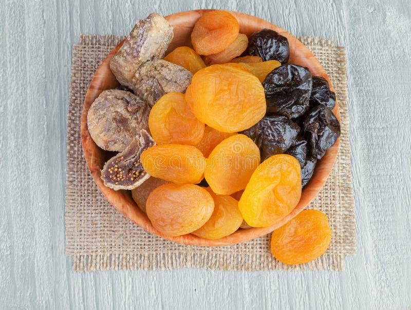 suszone owoce zdjęcie stock