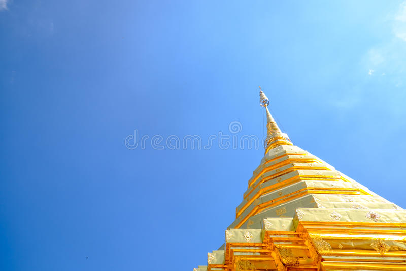 Suthep Temple royalty free stock images