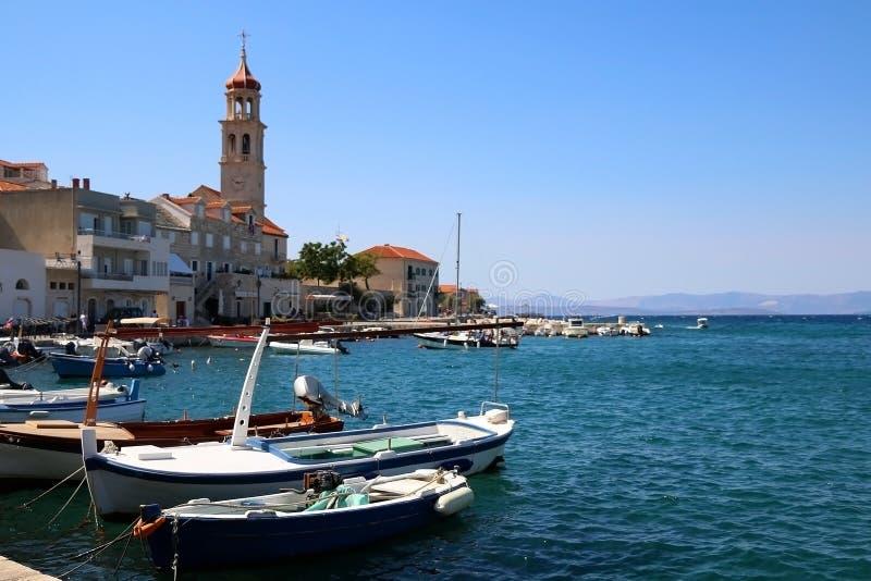 Sutivan, Croácia fotografia de stock
