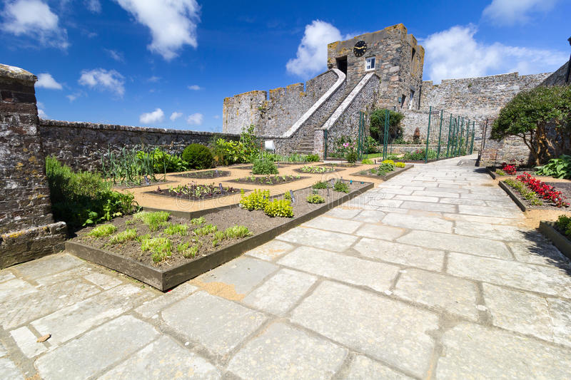 Sutler's Garden, Castle Cornet royalty free stock images