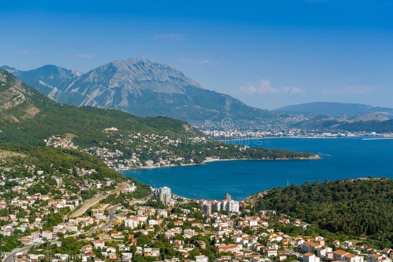 Sutomore-Erholungsort, Montenegro lizenzfreie stockfotos