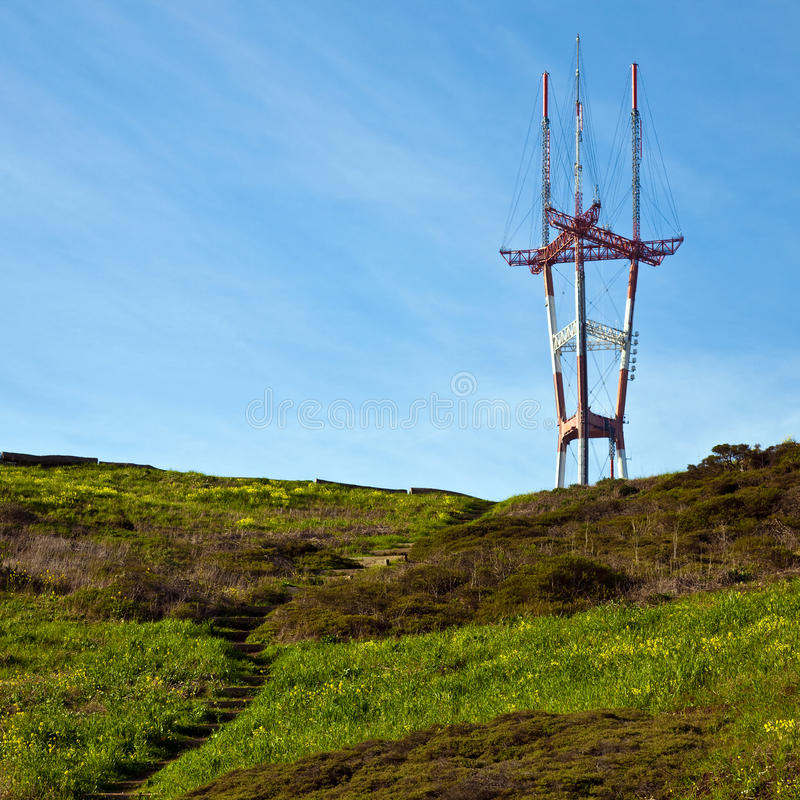 Download Sutro Tower Royalty Free Stock Image - Image: 13037326