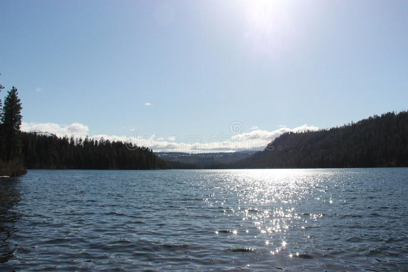 Suttle Lake royalty free stock photo