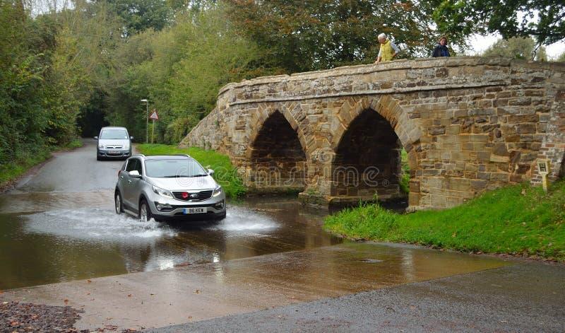 Sutton Splash Bedfordshire stock afbeelding