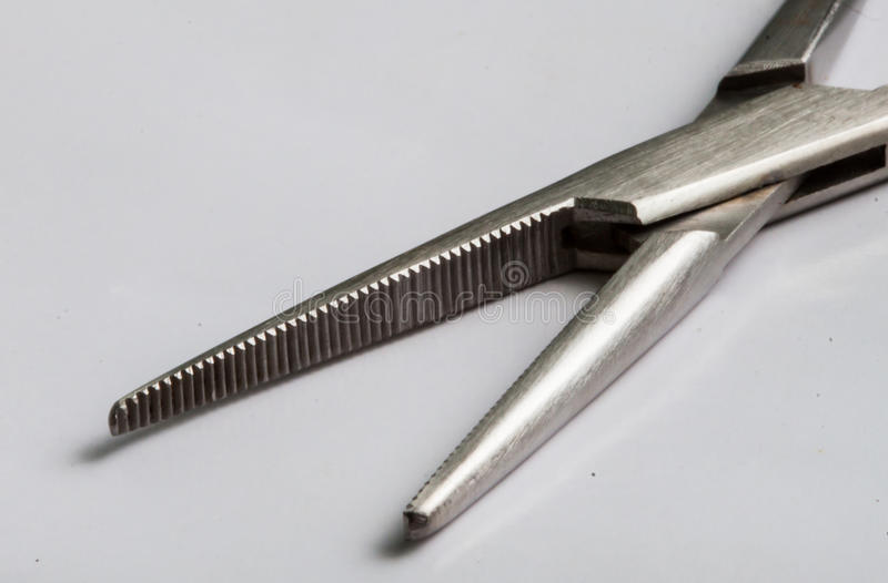 Download Suture forceps stock image. Image of medical, stitches - 26874923